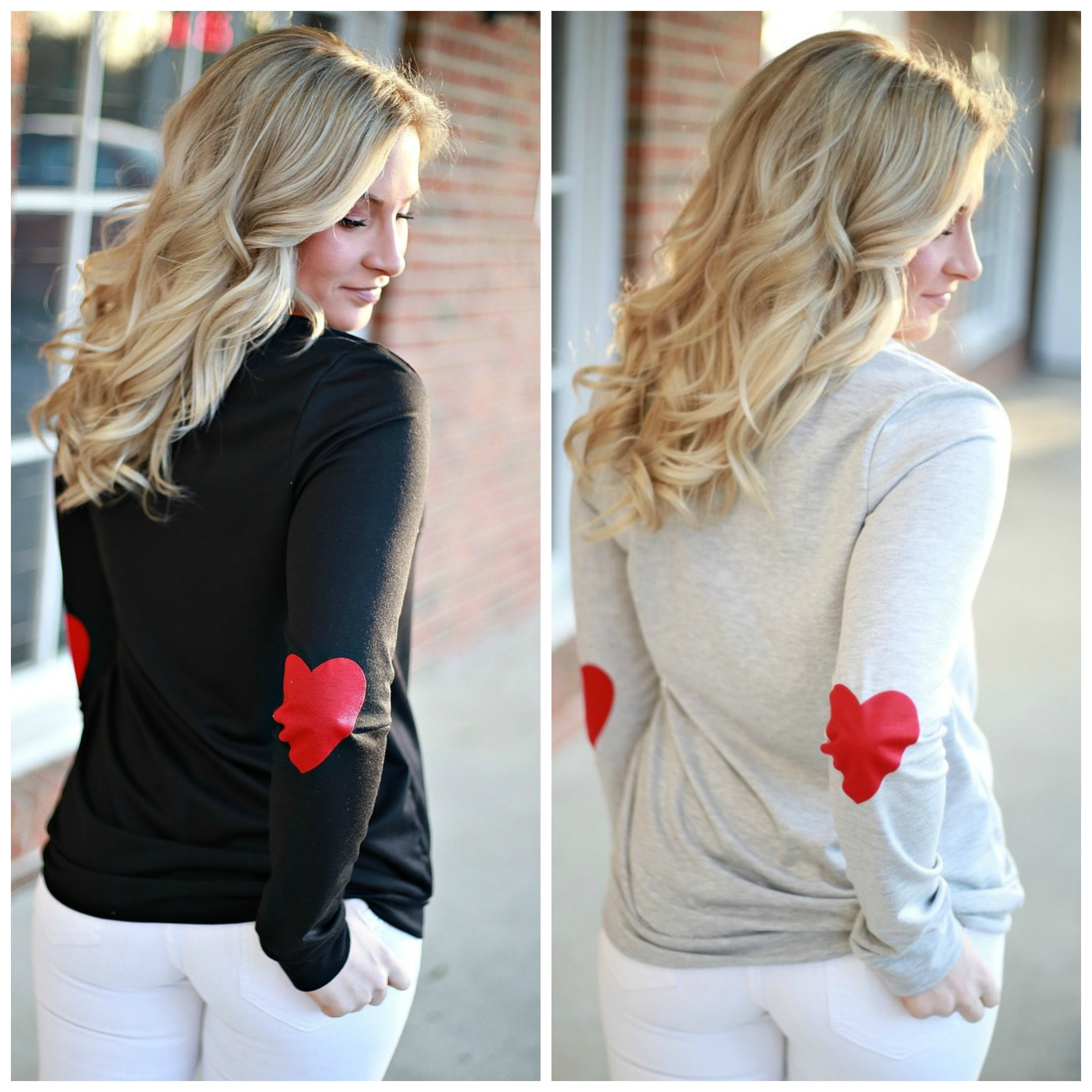 valentine's day casual tops